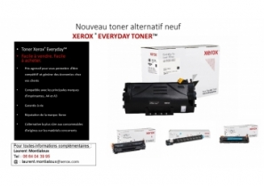 Nouveau toner alternatif neuf : XEROX ® EVERYDAY TONER™ - Xerox