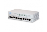 KGS-612F- Switch Ethernet Gigabit Web Smart 6-Ports avec 3 Ports SFP
